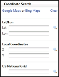 Or Us National Grid Coordinates Click The Search On Next To The Coordinates You Entered The Map Will Zoom To The Entered Location