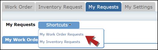 My service order